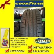 Goodyear EfficientGrip Performance tyre tayar (installation) 225/45R17 225/55R17 235/65R17 245/45R17 225/45R18 245/45R18