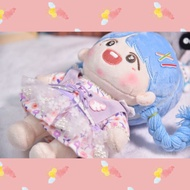 ❗非現貨❗ 一小只哀醬 紫色仙女裙 娃衣20cm娃裙20cm 棉花娃娃 娃娃20cm 無屬性 娃衣 娃裙 娃衣出清