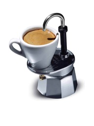 BIALETTI หม้อต้มกาแฟรุ่น Mini Express 1 ถ้วย (สีเงิน) - เครื่องชงกาแฟ เครื่องทำกาแฟ เครื่องชงกาแฟสด เครื่องชงกาแฟแคปซูล กาแฟแคปซูล แคปซูลกาแฟ เครื่องทำกาแฟสด หม้อต้มกาแฟ กาแฟสด กาแฟลดน้ำหนัก กาแฟสดคั่วบด กาแฟลดความอ้วน mini auto capsule coffee machine