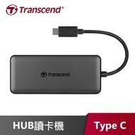 【Transcend 創見】六合一多功能 USB 3.1 Gen2 TYPE-C集線器(TS-HUB5C)