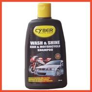 Car & Motocycle WASH & SHINE 500ml CYBER Auto Care Cyber Wash & Shine Car & Motorcycle Shampoo