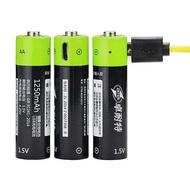 【山道具屋】ZNTER 卓耐特 1.5V 1250mAh USB 快充鋰聚合電池(3號/AA)