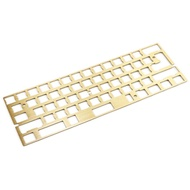 Mechanical Keyboard Cnc 60 Brass Positioning Plate Support ISO ANSI for GH60 Pcb 60% Keyboard DIY