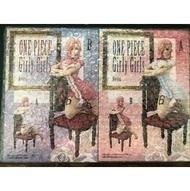 全新未拆 代理版 景品 海賊王 航海王 Girly Girls G&G 椅子 坐姿 蕾玖 麗珠 文斯莫克 A+B款 一套兩款