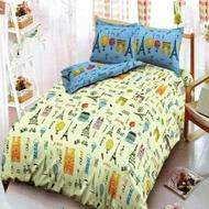 Bed Cover Deluxe Kintakun Merci Paris ROOMART.ID Bedcover Bed Cover Murah Bed Cover 100 x 200 Bed Cover 120 x 200 Bed Cover Kintakun