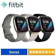 Fitbit Sense 進階健康智慧手錶 (碳黑色/月光白)
