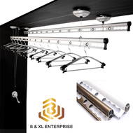 B & XL Ceiling Mounted  Lifting Clothes Hanger/Lifting Drying Rack/Ampaian Baju Siling Model:DR200