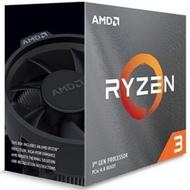 AMD Ryzen R3-3100 處理器(四核八緒/AM4/內含風扇/無內顯)