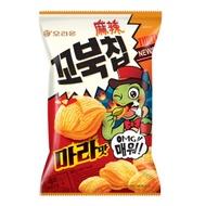 好麗友 烏龜玉米脆片-麻辣味(80g)