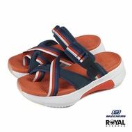 《滿1500現折150》Skechers Modern 橘色 增高5CM 涼拖鞋 女款 NO.J0380【新竹皇家 133010NVOR】