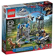 LEGO Jurassic Park Jurassic World Raptor Escape Set #75920
