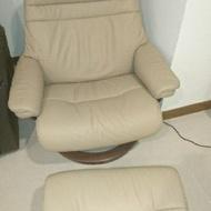 Stressless單人皮革沙發歐洲客制化座椅