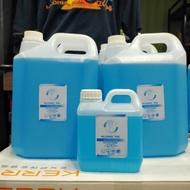 เอทิลแอลกอฮอล์ 70% ชนิดน้ำใช้ฉีดพ่นทำความสะอาดขจัดเชื้อโรค 99.99%  สินค้าพร้อมส่ง550.-   แกลลอน 1 ลิตรชนิดน้ำราคา