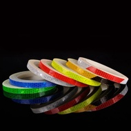 2pcs Reflective Sticker Tape Practical Reflective Tape for Bicycle Bike