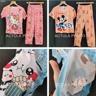 Sleepwear & Pajamas☞▫☁Cotton Terno Pajama sleepwear For adult women's casual wear suit pajamas