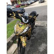 MOTOR STICKER WAVE DASH 110 V3FI HONDA FULL BODY
