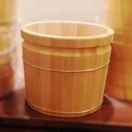 【萬先蒸籠店】1呎高-MIT手工檜木足桶★檜木桶/泡腳桶/足浴桶/蒸腳桶/足療桶★