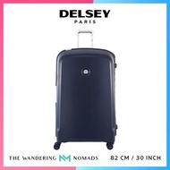 Delsey Belfort Plus 82cm 4 Double Wheels Trolley Case Luggage 30inch - Blue