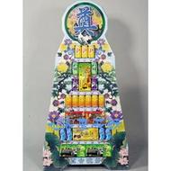 【BN-780】!!喪禮罐頭塔!! 罐頭塔-五層汽水喪禮.罐頭塔、喪事罐頭塔、弔唁罐頭塔、罐頭座、喪事罐頭座、弔唁罐頭座、弔唁花禮