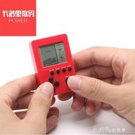 口袋掌機迷你方塊遊戲機GB造型掌上游戲機俄羅斯方塊掌機休閒掛件