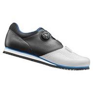 GIANT PRIME 寬楦自行車專用硬底鞋(Boa旋鈕) 白黑/ 黑紅 ~二色