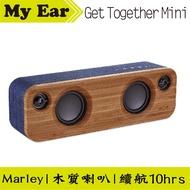 Marley Get Together Mini 丹寧藍 藍芽 木質喇叭 | My Ear耳機專門店