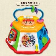 【現貨】麵包超人七面學習玩家 新款 益智遊戲屋18種玩法 嬰兒 寶寶 聲光感官 音樂 形狀 益智玩具 七面遊戲屋