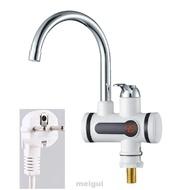 Meigui歐盟插頭節能溫度顯示加熱器水龍頭