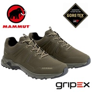 【Mammut 長毛象 瑞士】Ultimate Pro Low GTX 防水透氣登山鞋 健行鞋 橄欖綠 男款 (00710-4027)