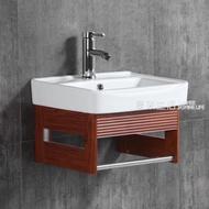 浴櫃 太空鋁浴室櫃組合支架盆洗臉盆洗手盆面盆洗漱台盆掛盆吊櫃小戶型