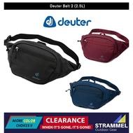 waist waterproof bag sports [100% Authentıc] Deuter Belt 2 - 2.5 L Hip Bag Organizer Travel Pouch Bag Lightweight (3 Col