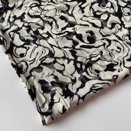 kain rayon motif / bahan rayon viscose premium/bahan mukena/bahan pajamas (harga per 0.5m)
