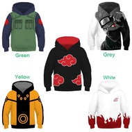 Anime Naruto Children's Hoodie 3D Pullover Jacket For Kids