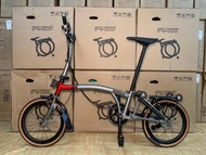Pikes Folding bike/Foldable bicycle 4th generation 6 speed M bar