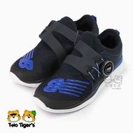 New Balance BOA 旋鈕設計 藍黑 Sonic 輕量跑鞋 中童鞋 NO.R4243