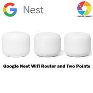 Google Nest Wifi Router and Two Points ( READY STOCK )