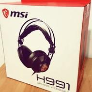 微星 mai H991耳機
