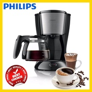 Philips เครื่องชงกาแฟ เครื่องชงกาแฟสด เครื่องทำกาแฟ เครื่องทำกาแฟสด เครื่องชงกาแฟอัตโนมัติ แบบหยด PHILIPS รุ่น HD7457 สีดำ