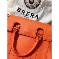 BRERA Italy 橘 肩背包/側背包/郵差包/凱莉包