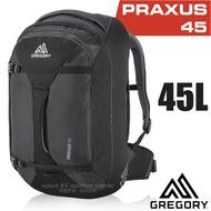 【美國 GREGORY】新款 Praxus 45 多功能可背可提旅行背包.行李箱袋/商務旅行.旅遊/104079 像素黑