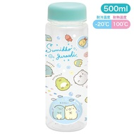 【角落生物 冷水壺】角落生物 冷水壺 冷水瓶 海洋 藍 500ml 日本正版 該該貝比日本精品 ☆