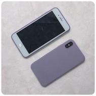 iPhone 5S SE 莫蘭迪 紫色 手機殼 全新 含掛飾