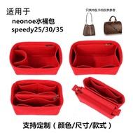 【精品內膽包】適用款 接受定制 加固設計 防水不掉色 適用于LV neonoe水桶包內膽包 /內襯包LV speedy包