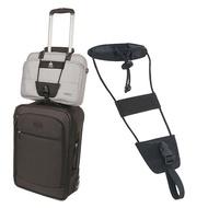 กระเป๋าเดินทางอะไหล่กระเป๋าเดินทางคงที่ยืดหยุ่นTelescopicสายรัดกระเป๋าเดินทางรถเข็นปรับความป...