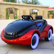 嬰兒童電動車四輪遙控汽車可坐男女小孩搖擺童車寶寶玩具車可坐人 MBS 英雄聯盟
