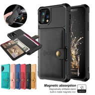 Iphone 12 11 Pro 12 Mini 12 Pro Max Car Magnetic Card Cover