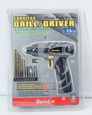 好市多 Durofix  8v鋰電池電鑽 8伏特 充電 電鑽 鑽頭 組合 COSTCO