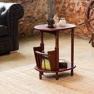 《閱讀歐洲》橢圓古典雜誌茶几桌
