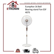 "EuropAce 16"" Ball Bearing stand Fan ESF 407S"