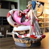 XoX  海賊王 超大蛇姬女帝 大型手辦 限量雕像手辦模型擺件  海賊王公仔公仔海賊王公仔脫模型公仔
